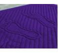 """Полотенце махровое """"Ножки"""" (фиолетовый) - small"""