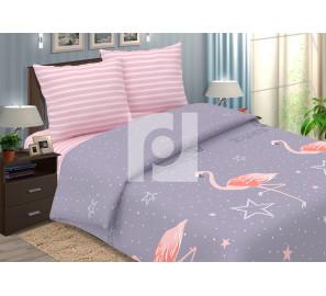 """Постельное белье поплин """"Фламинго"""""""