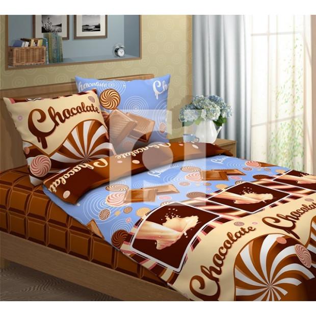 "Ткань бязь ""Шоколад"" (компаньон) 220 см (оптом от 1 рулона)"