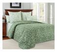 """Ткань перкаль """"Вирджиния"""" зеленый для постельного белья (компаньон) 220 см (оптом от 1 рулона) - small"""