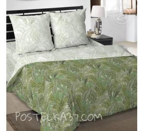 """Ткань поплин """"Джунгли"""" для постельного белья (компаньон) 220 см (в розницу от 1 метра на отрез)"""