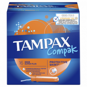 Тампоны TAMPAX Compak Super plus (16 шт.)