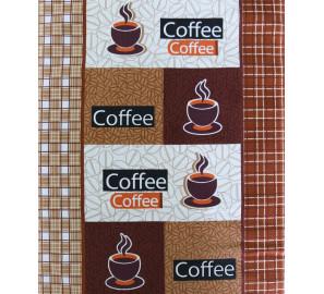"""Вафельное полотенце """"Кофе-2"""""""