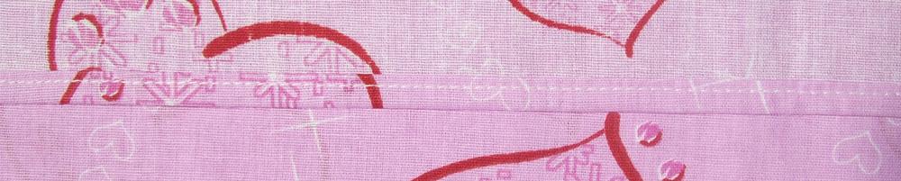 Бельевой шов постельного белья ТМ Непоседа